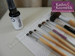 Sephora Brush Cleaner ve Fırçalar