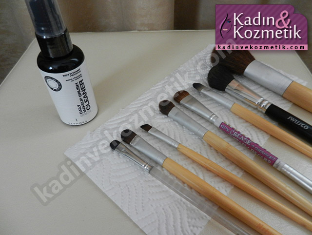 Sephora Brush Cleaner ve Fırçalar