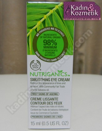 body shop smoothing eye cream