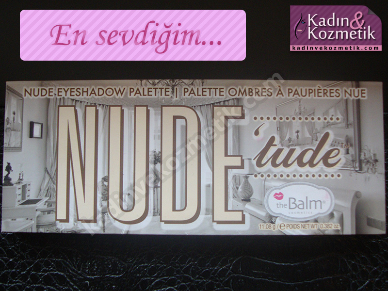 the balm nude tude