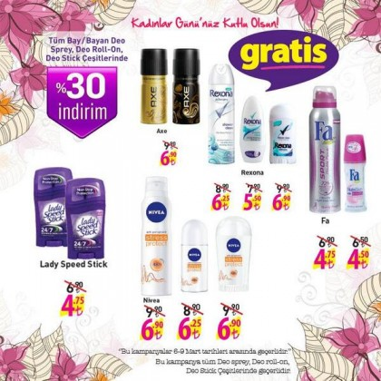 gratis deo roll-on