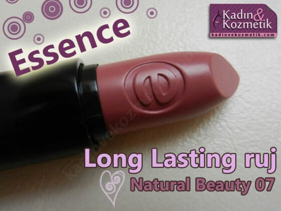 essence long lasting ruj