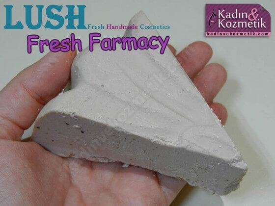 lush fresh farmacy sabun