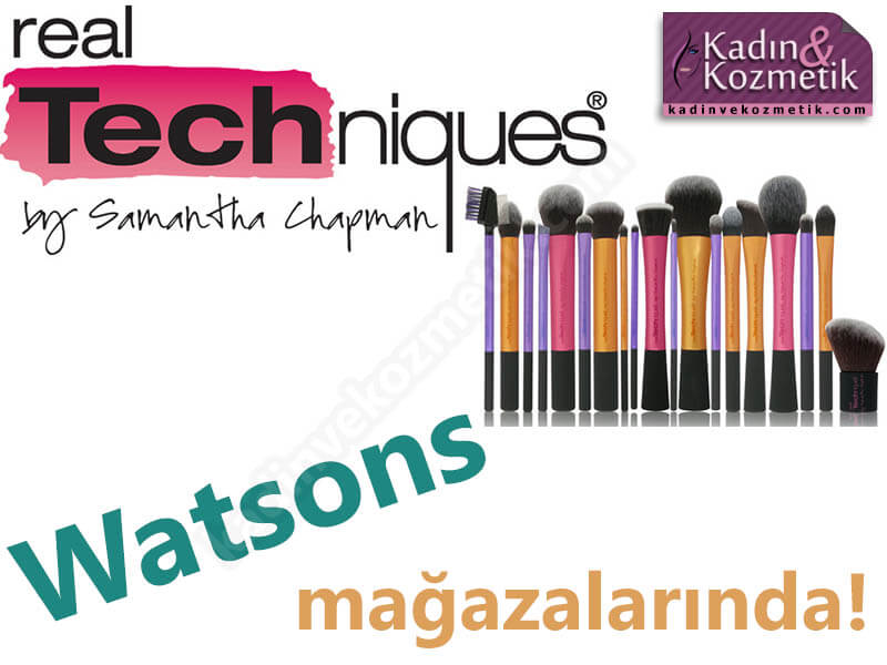real techniques watsons