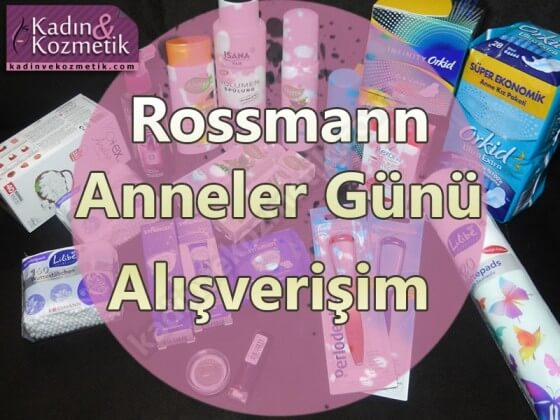 rossmann anneler günü indirimi