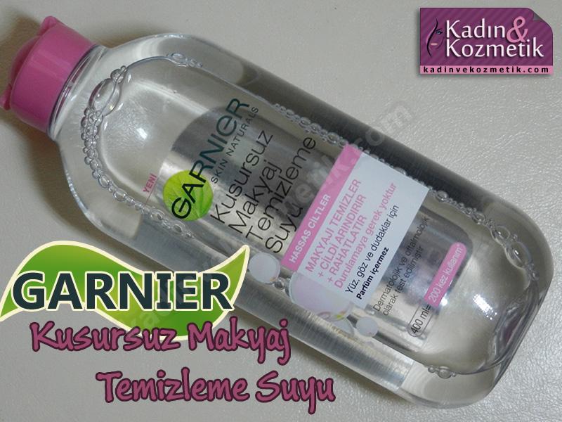 garnier kusursuz makyaj temizleme suyu